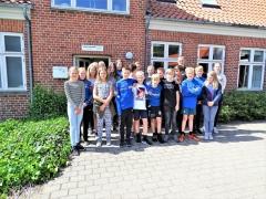 Skolens 56er var på besøg på Arkivet (3)