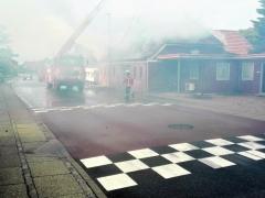 Den Gl. Smedie på Stadionvej nedbrænder onsdag formiddag den 15. august. 2018 (4)