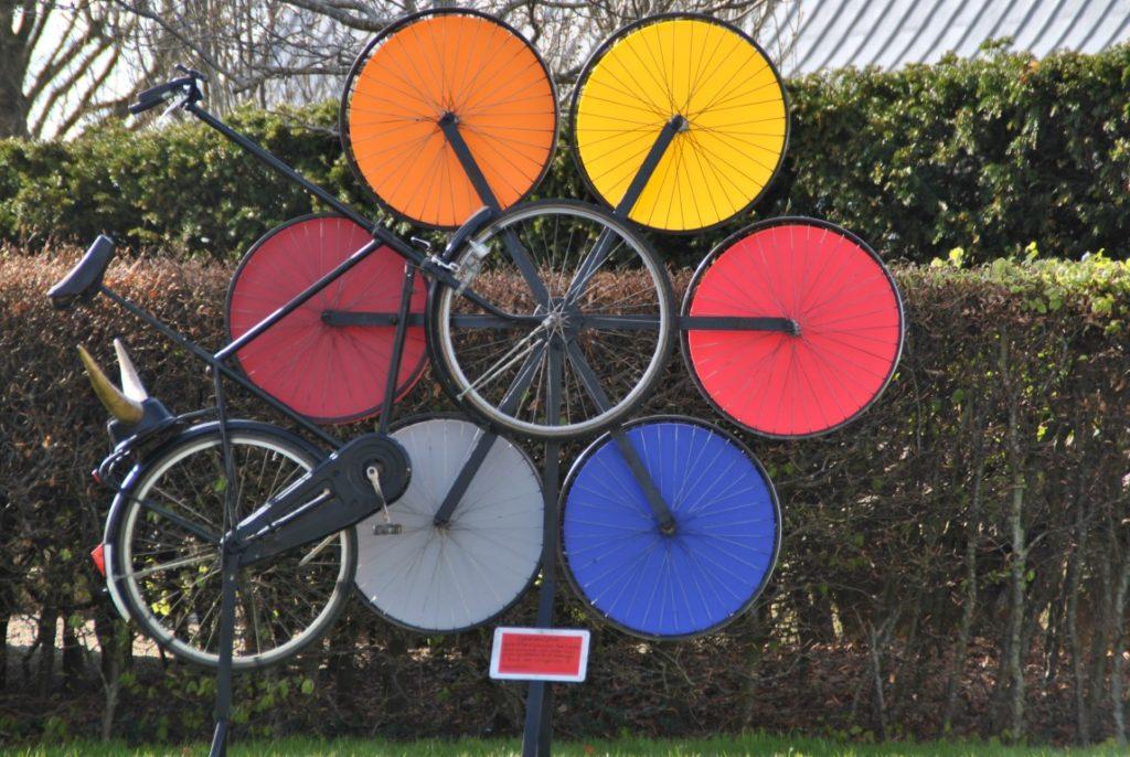 Cykelskulptur Opvej 5