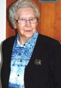Laura Høy fylder 100 år 10. marts
